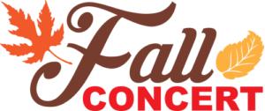 2019 Fall Concert Logo