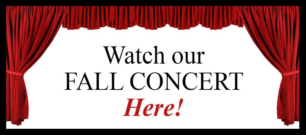 2020 Fall Concert